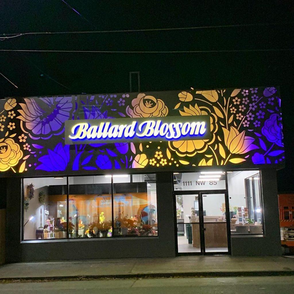 Photo taken by Ballard Blossom, Inc. - The Vibrant new storefront
